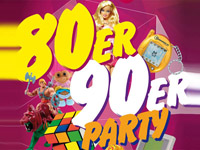 80er & 90er Party mit DJ Wolle