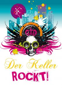 'Der Keller Rockt' Party mit DJ Wolle (Alternative/Party Punkrock)