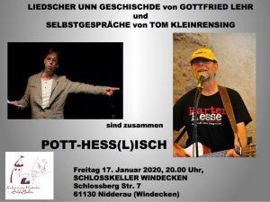 Pott - Hess(l)ich (Mundart / Kabarett / Liedermacher)