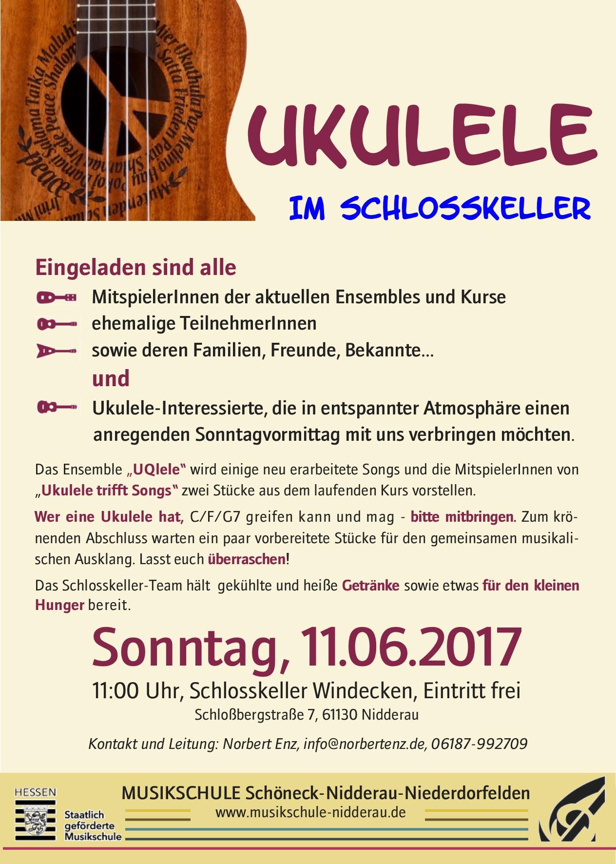 Ukulelen Ensembles