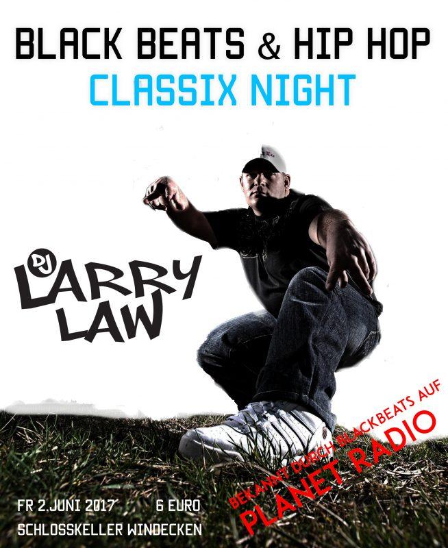 Black Beats & Hip Hop mit DJ LARRY LAW (Planet Radio)