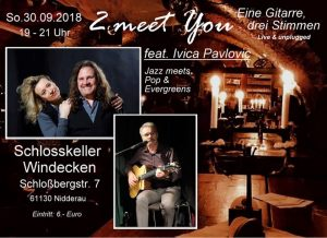 2 meet You feat Ivica Pavlovic  (Trio / Unplugged / Pop,Swing und Blues)