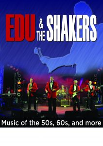 Start 20 Uhr: EDU & The Shakers (Oldies Party Music)