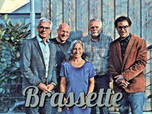 Sommermusik im Schlossgarten mit: Brassette feat. Nicole Becker