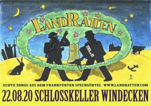 Sommermusik im Schlossgarten mit: LandRatten
