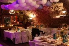 Hochzeit im Schlosskeller
